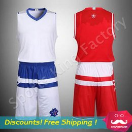 Wholesale 2016 All Star No brand basketball clothes New basketball clothes suit uniforms mens racing suit without brand jersey custom name numbe