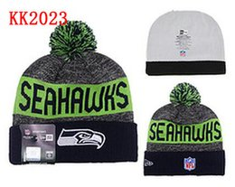 Wholesale Seattle Beanies Winter High Quality Beanie For Men Seahawks beanie American Football Women Skull Caps Skullies Knit Cotton Hats