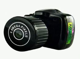 The World smallest camera Mini DV Y2000 Digital Video Camera Small Mini Pocket DV DVR Camcorder Recorder PC WebCam