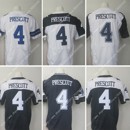 Wholesale NWT Factory Outlet NIK Elite Dallas Dak Prescott Cowboys Stitched Embroidery Logos Football Men s Jerseys Authentic Uniforms Sweatshirts