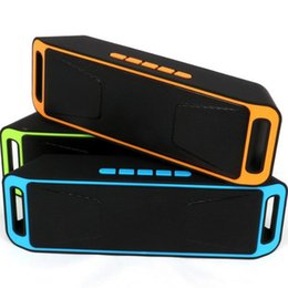 Wholesale 2016 SC Wireless Speaker A2DP Stereo Player Megabass Wireless Bluetooth Speaker Handsfree TF Card AUX mm DHL MIS129