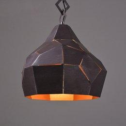 Wholesale Retro industrial wind LOFT personality lamps bar bench coffee shop pendant lights