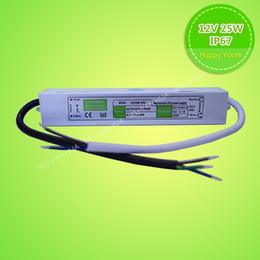 25W12V 2.1A LED waterproof switching power supply IP67 for led drive lighting transformers SMD5050 3528