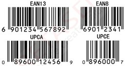Wholesale Barcode Lables Print Barcode EAN UPC code Lables Serial number Lables Custom materials of various sizes PET Paper Barcode labels