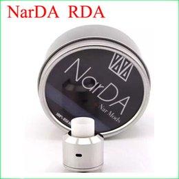 Hot Sale 1:1 clone Narda rda atomzier 316ss clone narda rda Stainless Steel High Quality NarDA Rda big vapor