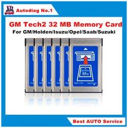Wholesale GM Tech2 MB Memory Card GM Tech Card For GM Holden Isuzu Opel Saab Suzuki tech2 mb Memory card Tech memory card