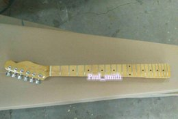 Wholesale Custom shop Frider logo TL electrical guitar neck super high quality with gold metal part headcase