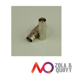 2 Pcs BNC Female to BNC Female INLINE Connector Adapters Copper Centre