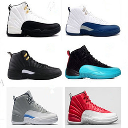 Wholesale 2016 barons black nylon mens basketball retro gym red french blue flu game alternate wolf grey basketball shoes discount shoes