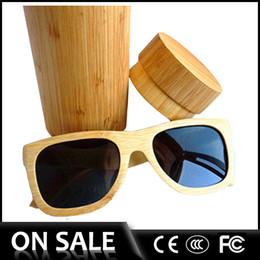 Wholesale 2016 Pure wood sunglasses revo Sunglasses bamboo Sunglasses with polarized lens wooden eyeglasses