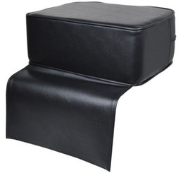 Wholesale Black Barber Beauty Salon Spa Equipment Styling Chair Child Booster Seat Cushion