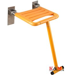 """ODM OEM 23.6x17.3x7.1"""" Wall Mounted Shower Chairs For Disabled Bathroom Chair Folding Shower Seat"""