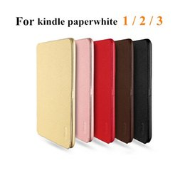 Wholesale Amazon Kindle Paperwhite LENUO Soft Leather Case Folio Protective Shell for Amazon Kindle Paperwhite Ebook Reader