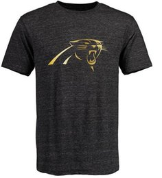 Wholesale Panthers T Shirts cheap rugby football jerseys Carolina Salute To Service Banner Wave Black Gold Collection Tshirts freeshipping