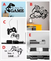 Gaming Gamer Vinyl Wall Decal Art Decor Sticker for Home Decoration