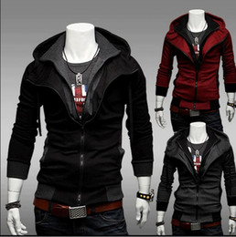 Free shipping -NEW Assassin's Creed Desmond Style Velour Hoodie