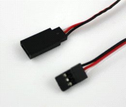 Wholesale 10 RC Servo Extension Lead Wire mm cm Male to Female Cable JR wire switch