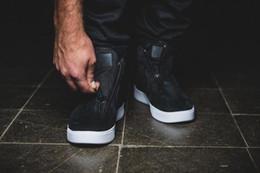 Wholesale 36 SZ Autumn Hot Outdoor Sneaker Flat Genuine Leather Shoes Lab Blazer Advanced Premium Zipper shoes