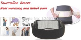 tourmaline products brace & supports health care magnetic lumbar support belts therapy support belt abdominal waist pain relief