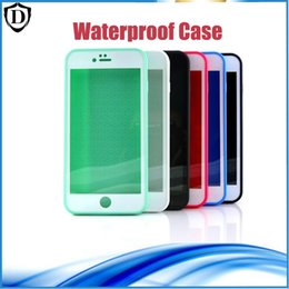 Waterproof Phone Cases Shockproof Underwater Diving full Cover Bag Case For iPhone 7 7 plus 6 6s plus 5 5s