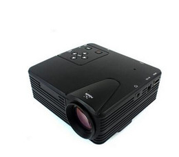 Wholesale H100 Image System Multimedia LED Projector Full HD P Mini LCD Digital Video Game Projectors Multimedia Player