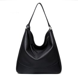 Women hobos bags Edge fashion best selling simple vintage casual single handle ladies pebbled pu leather handbags