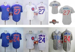 Wholesale Men Dexter Fowler Jersey Addison Russell Embroidery Logos Chicago Cubs Baseball VintageChina Authentic Aimee Smith Store
