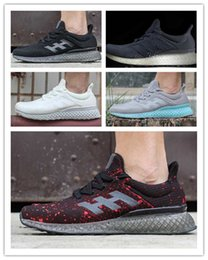 Wholesale With Box Cheap New Arrivals Originals ULTRA BOOST FUTURE CRAFT D Print Running Shoes For Men Sports Shoes Sneakers Mens designer shoes