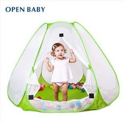 Wholesale Best Quality Kids Game House M Indoor And Outdoor Baby Ultralarge Natural Ventilation Ocean Ball Pit Pool Tent For Child