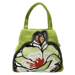 Wholesale Cloth Bags Zippers - fashion reticule cloth bag mini handbag women bag cosmetic bag Shoulder Bags fashion Mangnolia Totes bags B273 Mangnolia series