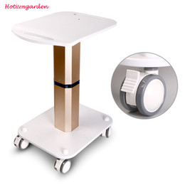 Trolley Stand Styling Pedestal Rolling Cart Roller Wheel Aluminum ABS For Body Care Salon Beauty Machine Use