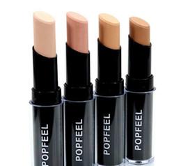 60pcs lot Popfeel Foundation Stick Concealer Makeup Concealer Stick Perfect Concealer Stick Face Primer Base Natural 4 Colors