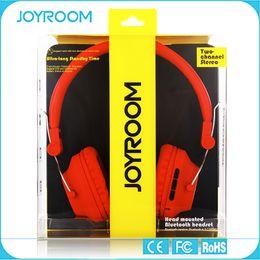 Wholesale JOYROOM Wireless Bluetooth Headband Headset Stereo Foldable With Mic Deep Bass Headphone Professional Monitor Headphone with retail package
