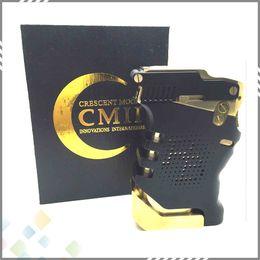 Wholesale Point Blank Box Mod PB Mech Clone Mod k Gold Plated Brass Externals fit Dual Battery Huge Vapor DHL Free