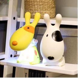 Étude sur les enfants à vendre-Belle lumière 3D Cartoon Dog Enfants LED Night Light USB Rechargeable enfants Étude Lampe Table Bureau Light Reading CE UL ROHS