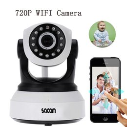 Wholesale SACAM72M1WL Indoor IP Cameras Security Wireless HD P Pan Tilt Audio Network Infared IP Camera Night Vision WiFi Webcam