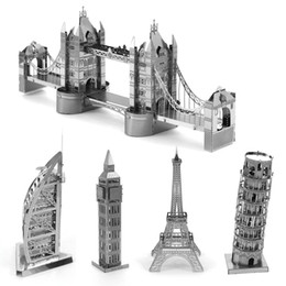Wholesale Nano DIY D architectural model building metal From educational toys for toddlers