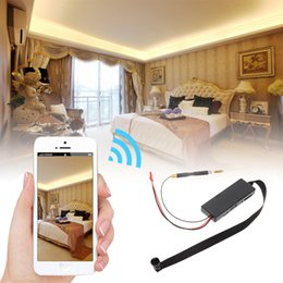 Wholesale Z6S Full HD1080p CCD IP Camera P2P DVR Camcorder Wifi DIY Module Spy Camera Wireless Motion Activated Detection Solid Shell Audio Video for