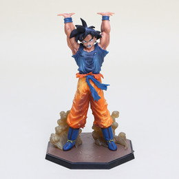 japan anime Dragon Ball Z figure Son Goku Spirit Bomb Ver. Battle Namek PVC Figure approx 16cm