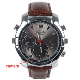Wholesale 8G HD P Night Vision Infrared Multi function Camera Watch with Digital Camera Taking Pictures Audio Recording