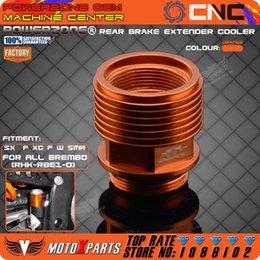 Wholesale KTM Billet Rear Brake Reservoir Extender Cooler Orange Fit BREMBO Bake KTM XC EXC SX SXF