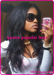 Natural wavy Malaysian human hair FRONT LACE wig&FULL LACE wig glueless bleached knots natural hairline for black women