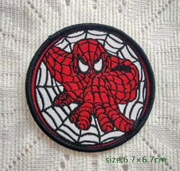 spider-man cartoon games Superhero Movie Sew On Patch Shirt Trousers Vest Coat Skirt Bag Kids Gift Baby Decoration