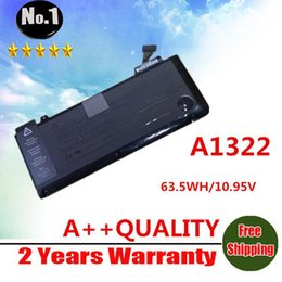 Wholesale A1322 Laptop Battery Laptop Battery V WH MAh For APPLE MacBook Replace A1322 battery