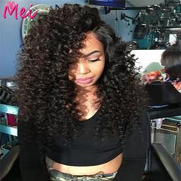 2017 cheveux ondulés tisse pour les femmes noires Perruque de dentelle de cheveux de perruque peu coûteux cheveux ondulés tisse pour les femmes noires