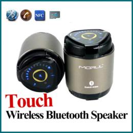 Compra Online China inalámbrica inteligente-Envío libre mini altavoces portátiles Bluetooth de metal de acero sin hilos de mano libre MIC tarjeta de memoria SD compatible para la tableta de teléfono inteligente