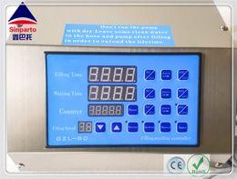 GZL-80 Sinparto 0.5-3000ml min model digital gear pump olive oil,wine,water,perfume filling machine+electric liquid filler