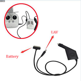Wholesale Hot for DJI Phantom Advanced Professional Car Charger Lipo Battery Charger V A W Output For FPV Drones Quadcopter
