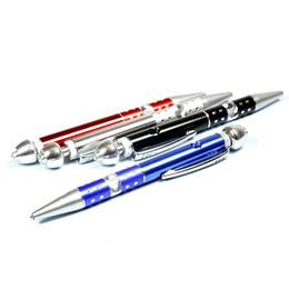 Promotion point de navire En Stock Ball - Point PIPES tuyau en métal stylo style FUMEUR Colorful fumer métal tuyau de tabac à pipe Cigarette tabac Livraison gratuite