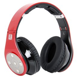 Wholesale Bluedio Model R Revolution Tracks Built in Mp3 Player Hi Fi Rank Wireless Bluetooth Headphones